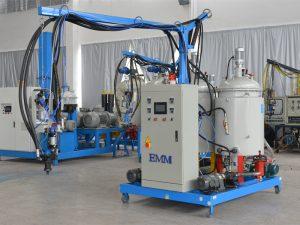 Yüksek yoğunluklu çin düşük basınçlı PU köpük yalıtım makinesi EMM084-1