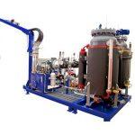 Siklopentan yüksek basınçlı köpük makinesi, 32kw pu köpük dolum makinası