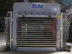 Çok katlı sıcak pres laminar makinesi