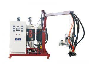 EMM083 Düşük basınç PU poliüretan yalıtım köpük enjeksiyon makinesi için bellek yastık pu ayakkabı ve koltuk minderi