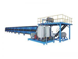 poliüretan panel sürekli üretim hattı