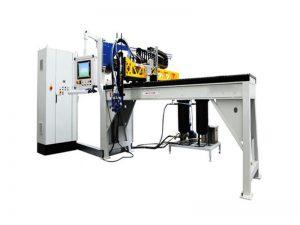 poliüretan ayakkabı tabanı şekillendirme makinesi